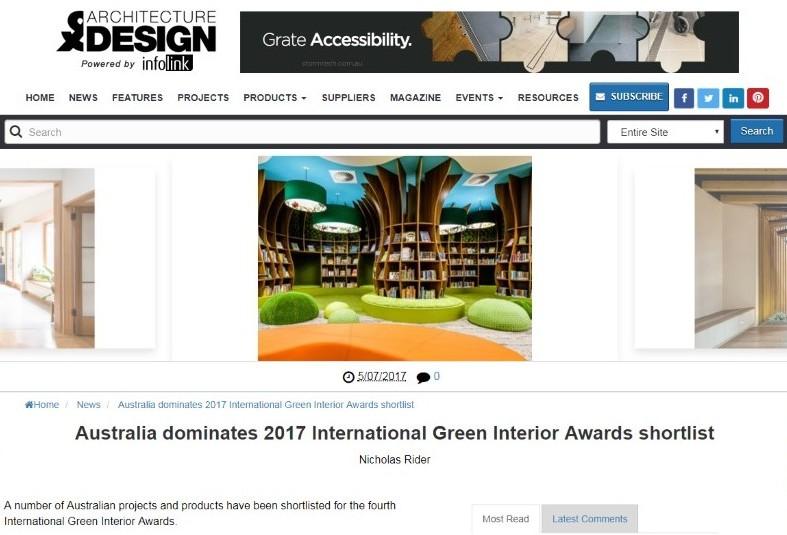 HIGHLY COMMENDED AUSTRALIAN LIBRARY DESIGN AWARDS 2017